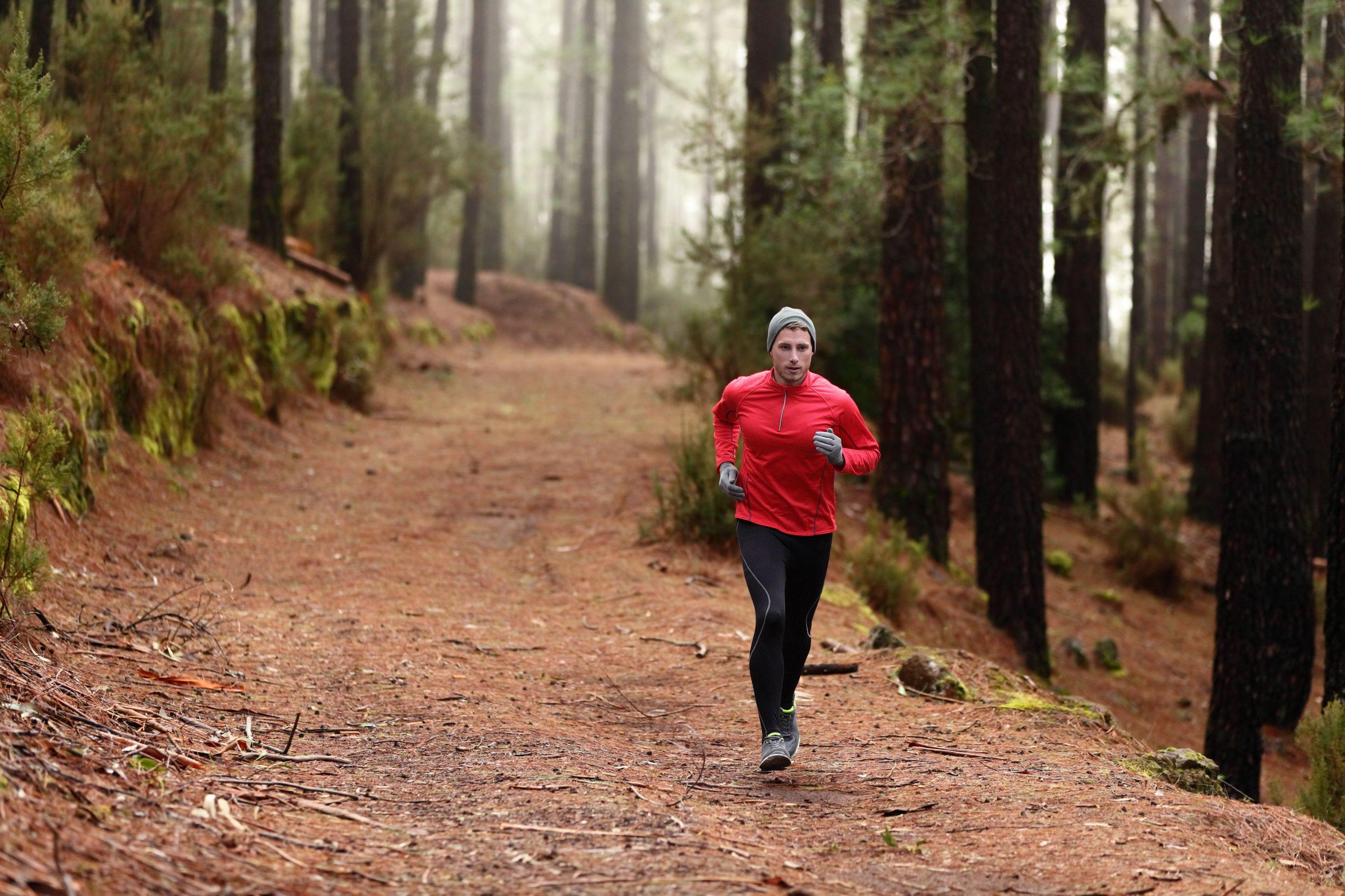Homme jogging